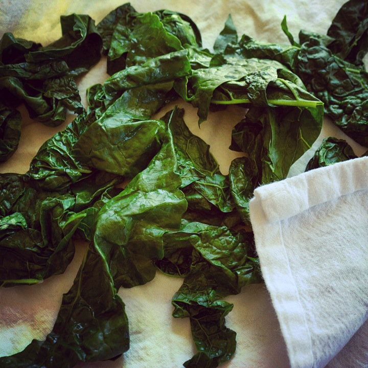 Blanched Kale
