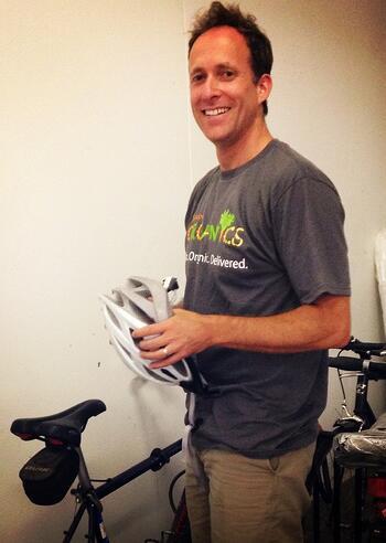Jeff Boston Organics Bike Friendly Business