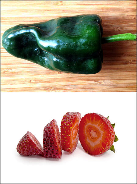 Poblano Pepper Sliced Strawberry | Boston Organics