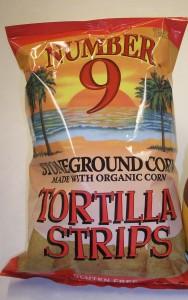 Number 9 Tortilla Strips