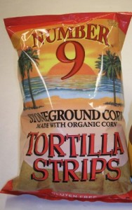 Number 9 Tortilla Strips