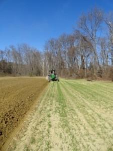 Atlas Farm Plowing Field