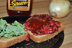 Meatless Mondays: BBQ Beet Burgers