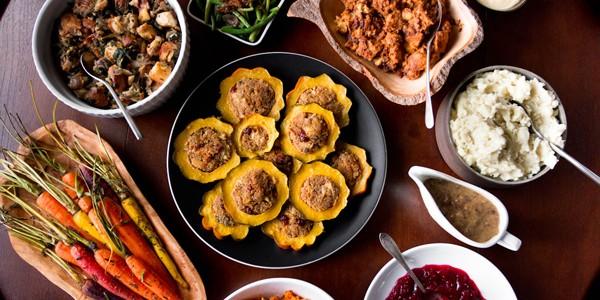Vegetarian Thanksgiving Menu from Oh My Veggies