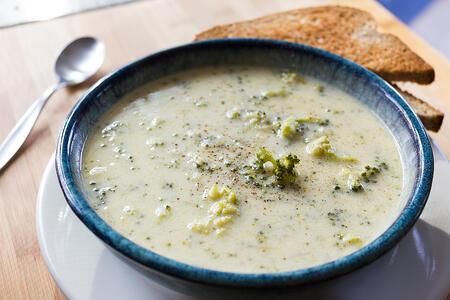 Broccoli Cheddar Sopu Recipe   Boston Organics