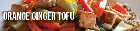 Orange Ginger Tofu | Boston Organics