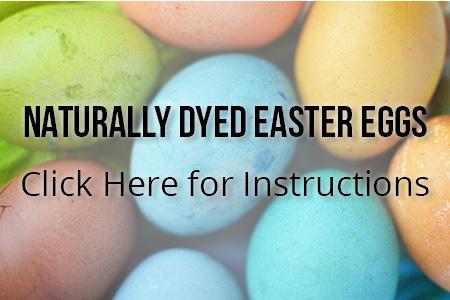 Naturally Dyed Easter Eggs | Boston Organics