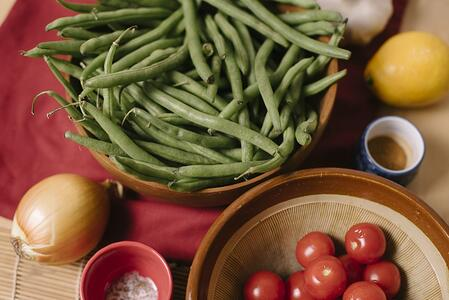 Green Beans and Cherry Tomatoes | Boston Organics