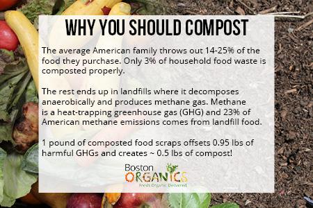 Why You Should Compost | Boston Organics