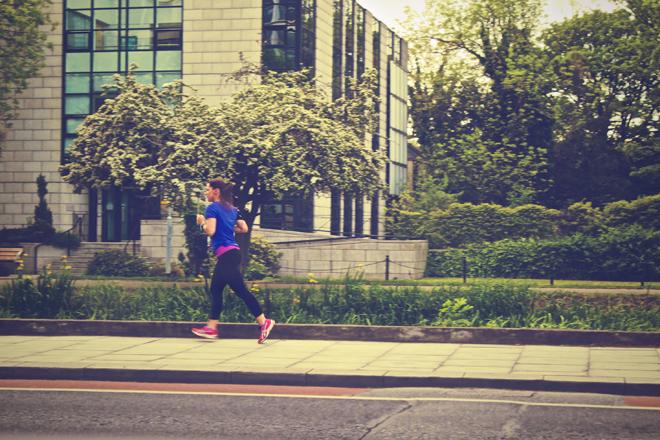 Runner Jogging