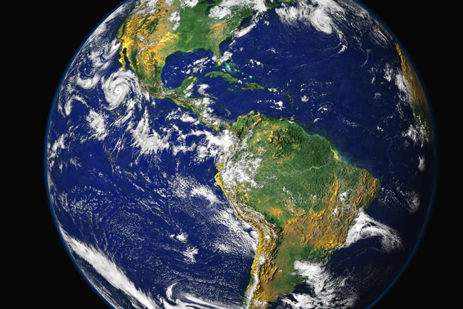 Earth Day Planet