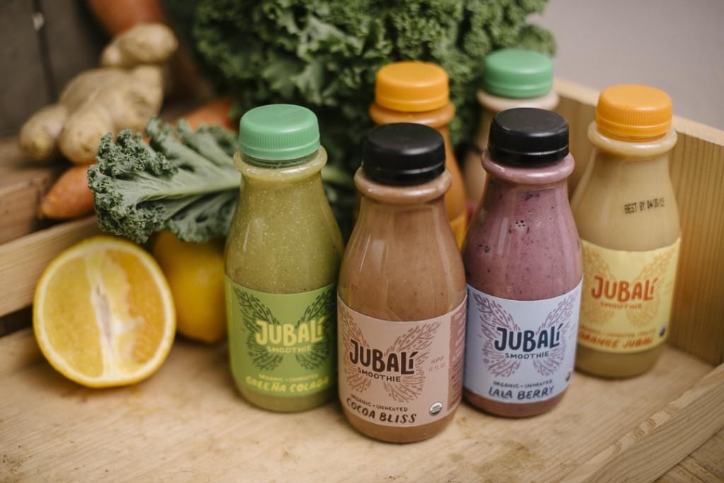 Jubali Smoothies   Boston Organics