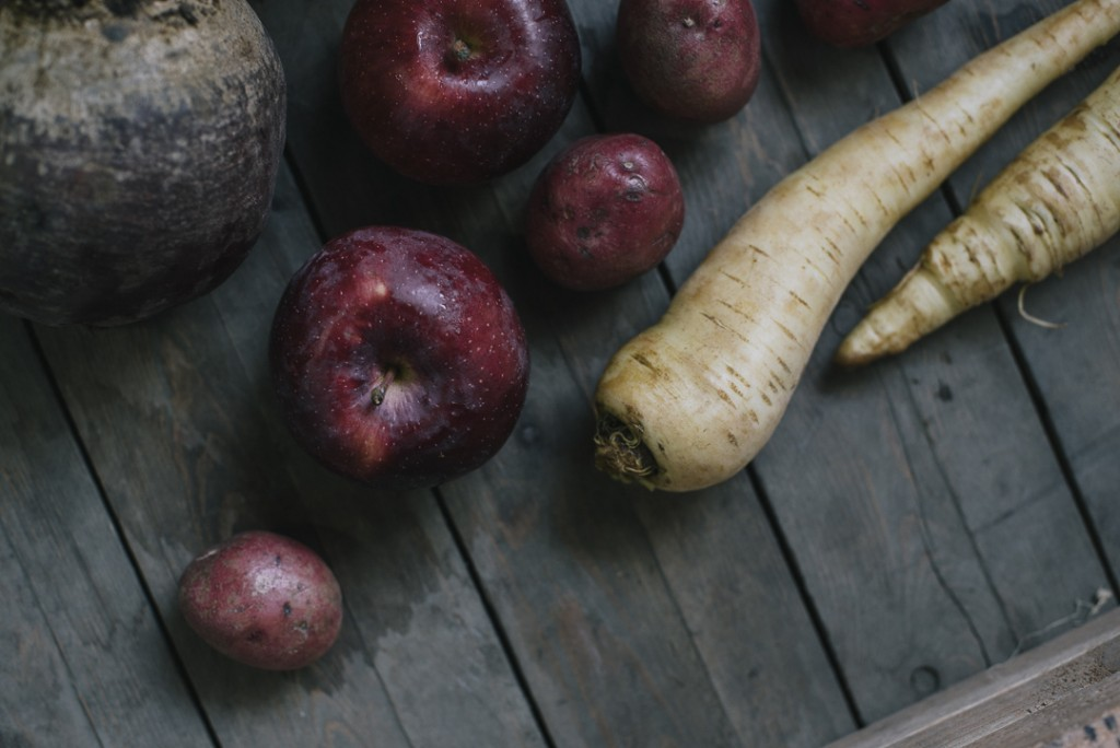 Local Apples, Beets, Parsnip, Potatoes   Boston Organics