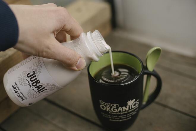 Vegan Organic Almond Milk | Boston Organics