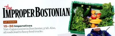 Improper Bostonian Header