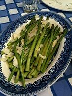 Asparagus with Shaved Parmagiano - LJ Glatzer