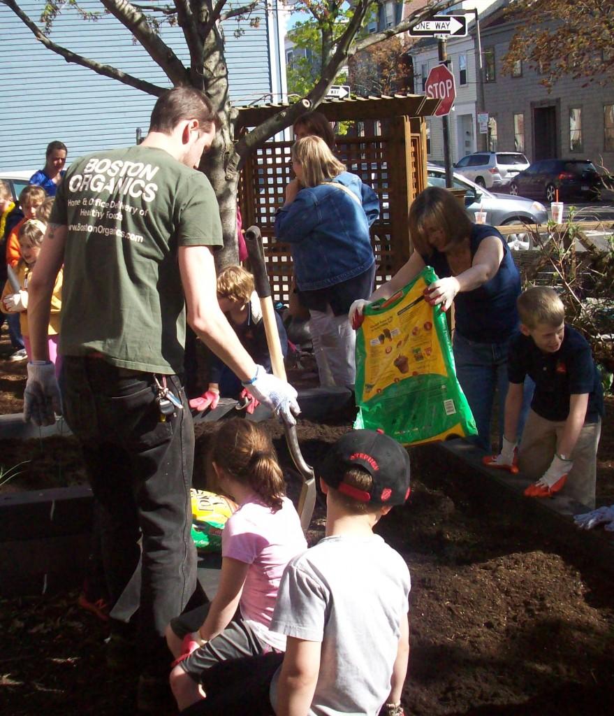 Garden school   Boston Organics