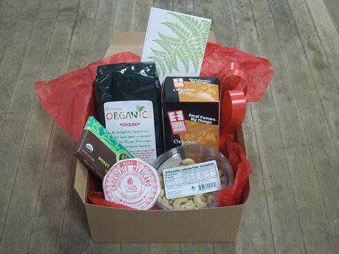 Small Organic Gift Box |Boston Organics