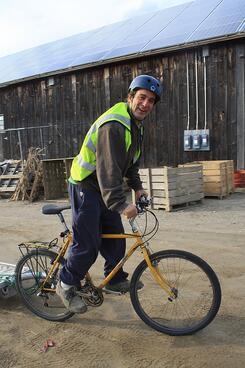Michael Docter Cargo Bike | Winter Moon Farm