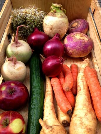 Dogma Box | Local organic produce