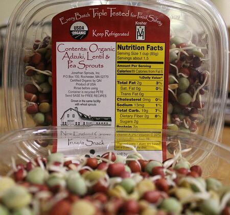 Sprouts - Munchin' Mix | Boston Organics
