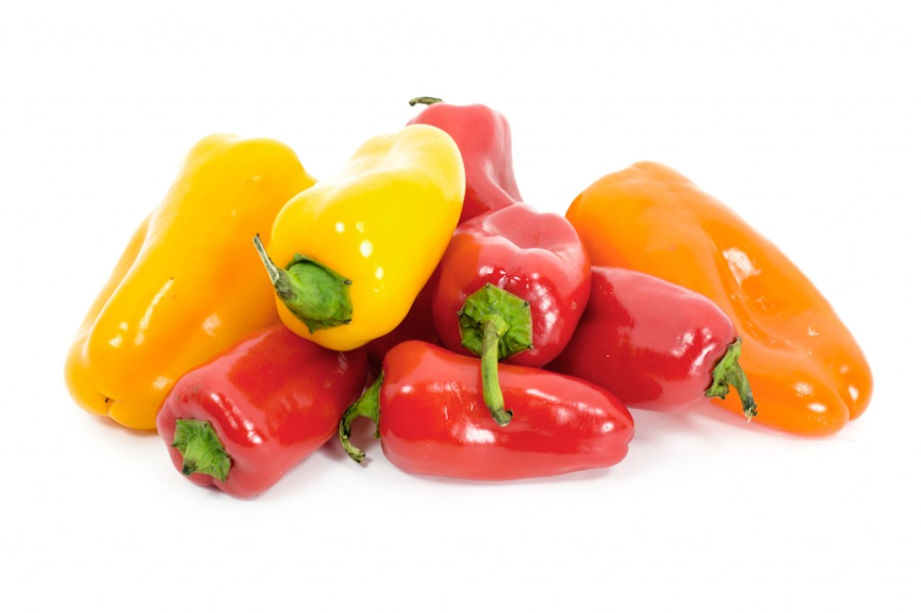Snacking Bell Peppers | Boston Organics