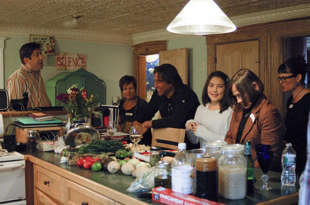 Interactive Dinner Party Chef Ryan   Boston Organics