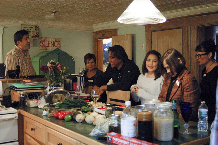 Interactive Dinner Party Chef Ryan | Boston Organics