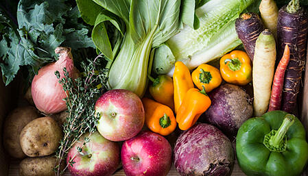 Fruits and Vegetables for Soup