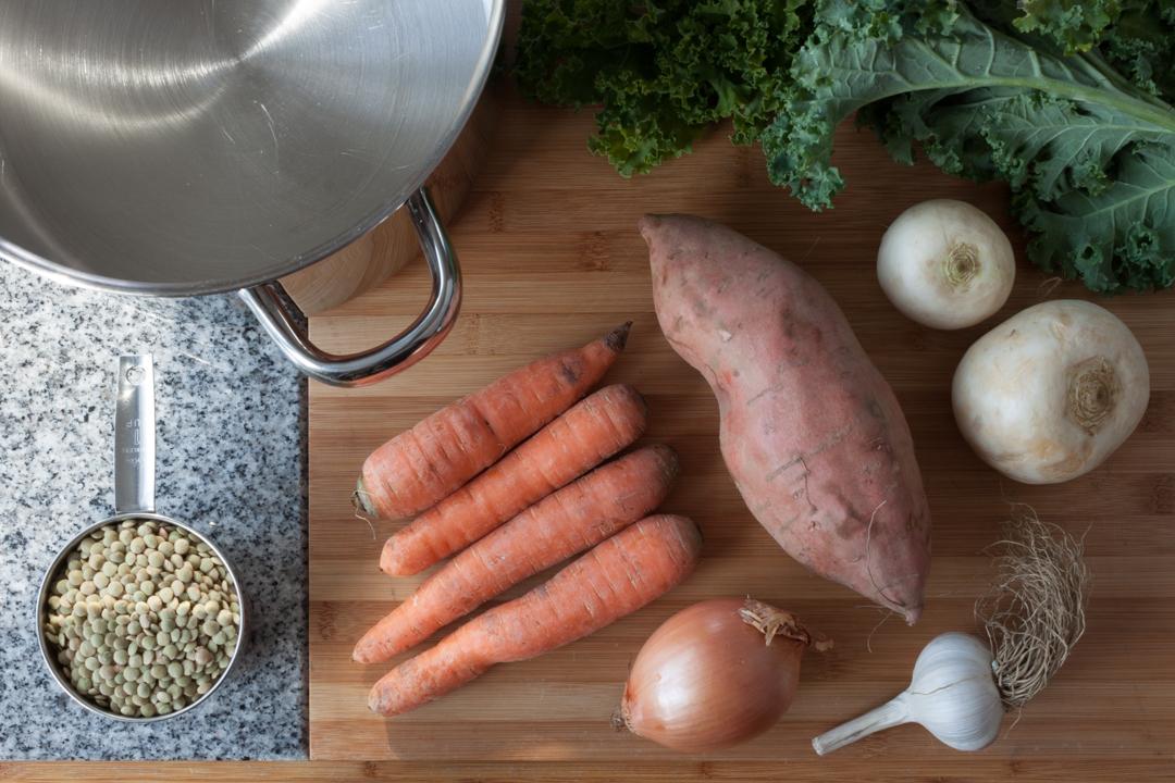 Lentil Soup Ingredients | Boston Organics