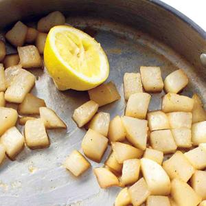 Honey Glazed Turnips