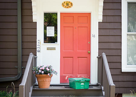 Front Porch Delivery | Boston Organics