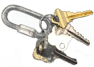Keys for secure delivery | Boston Organics