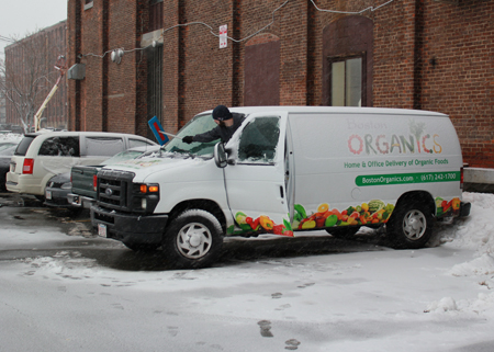 Snow delivery | Boston Organics