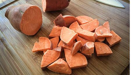 Sliced Sweet Potatoes |Boston Organics