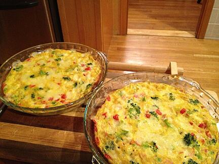 vegetable-frittatas