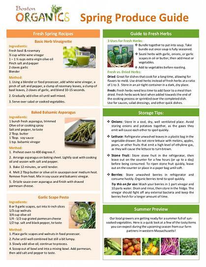 Seasonal Produce Guide pg2