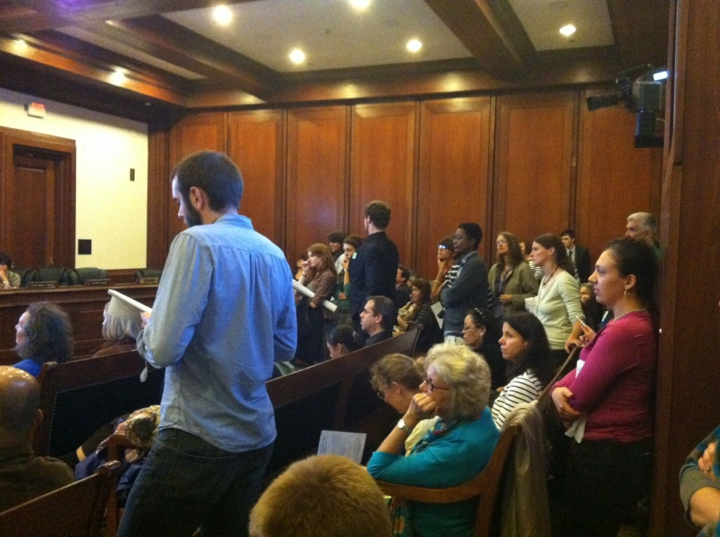 Inside the Hearing