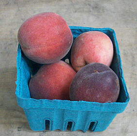 Local Organic Peaches