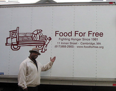 Dennis and the Food For Free Truck