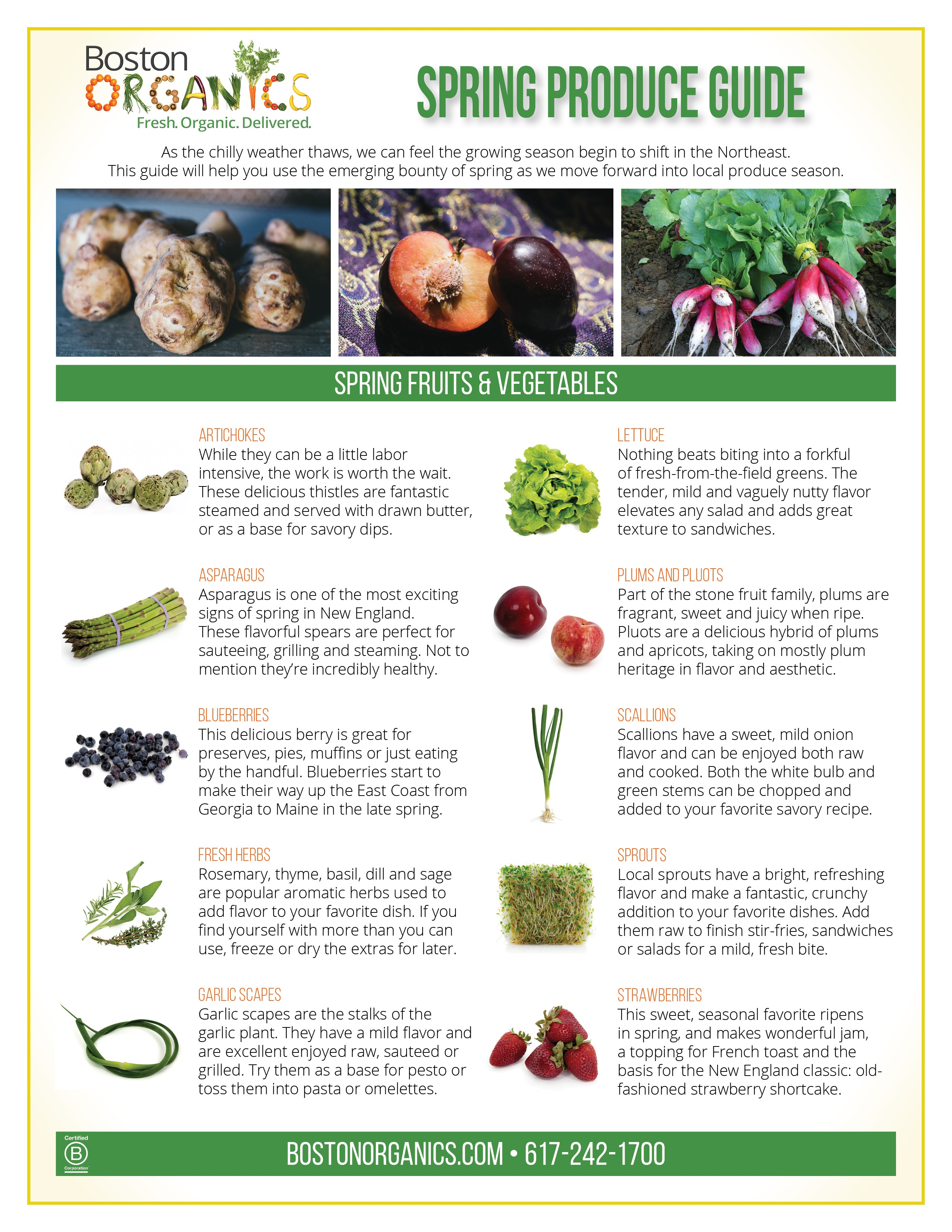 2018 Spring Produce Guide