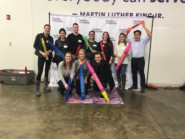 Cradles to Crayons Employee Volunteer Event