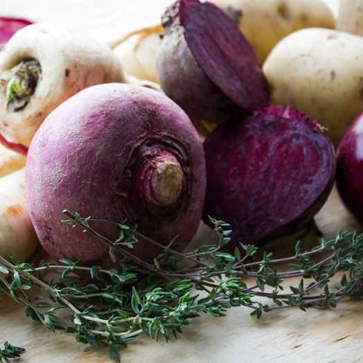 Boston Organics - beets and thyme