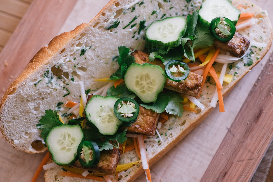 Boston Organics - Banh Mi with Pickled Daikon