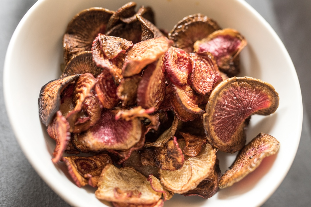 Boston Organics - Beet and Radish Chips