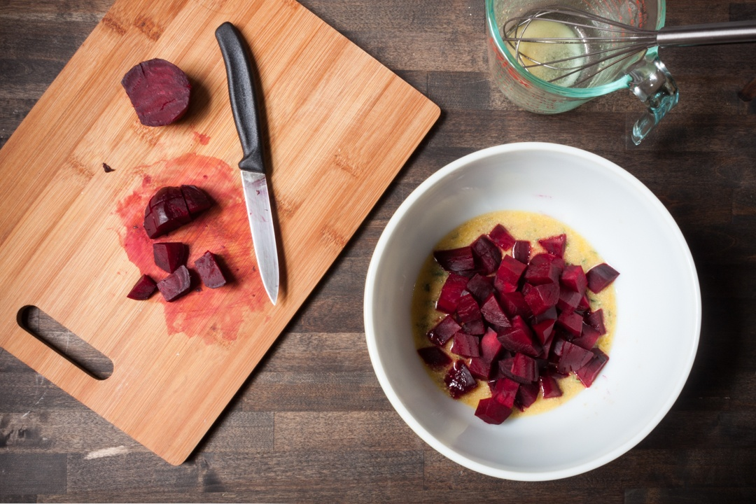 Boston Organics - Chopped Roasted Beets