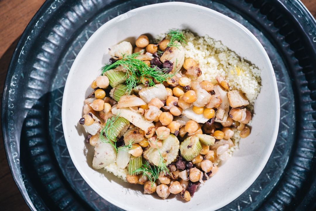 Boston Organics - Couscous with Fennel, Chickpeas and Citrus