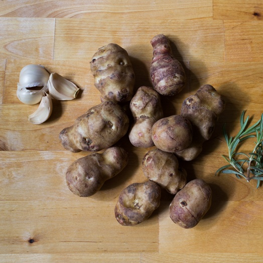 Boston Organics - Sunchokes and Garlic