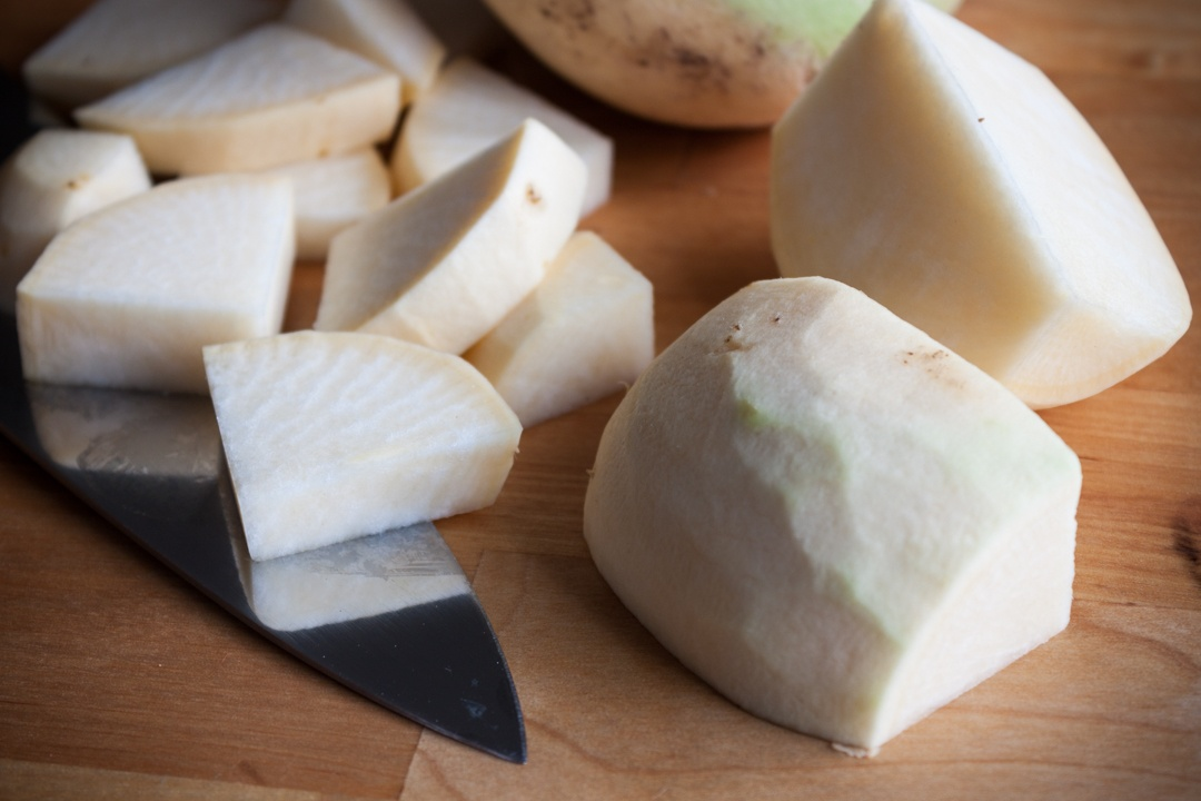Boston Organics - Sliced Turnips