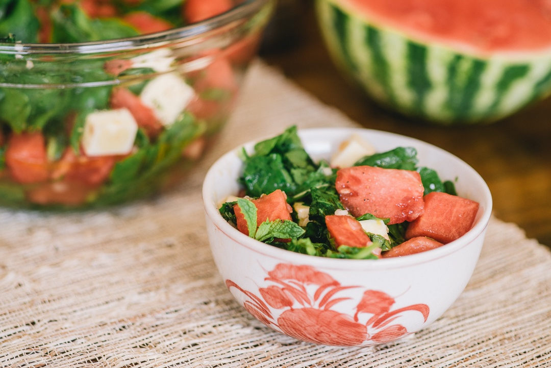 Boston Organics - Watermelon, Arugula and Feta Salad